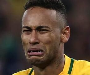meme neymar chorando